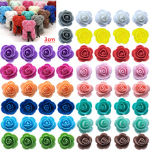 Foam-Rose Artificial-Flowers Wedding-Decorative Gifts Christmas Bear for Diy Box 20-Color