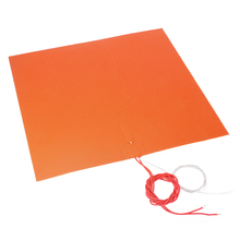 цена на 400*400mm 1.5MM 220V 1400W 3D Silicone Heated Bed Heating Pad Flexible Waterproof for 3D Printer Parts Electric Heating Pads
