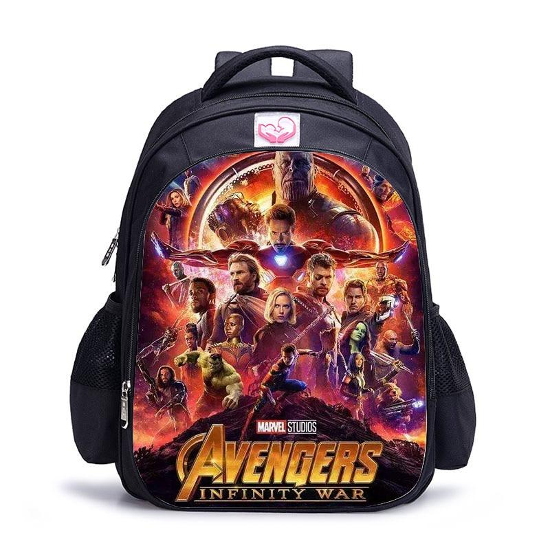 16 Inch Super Hero Children School Bags Orthopedic Backpack Kids School Boys Girls Mochila Infantil Catoon Bags