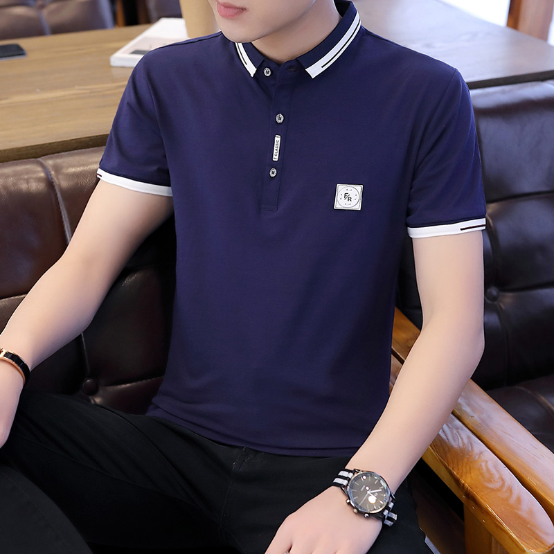 Brand Men's Polo Shirt Comfortable Casual Polo Tee Shirt Male Outwear Slim Fit Tops&Tees Polo Men Pure Summer Tee Shirt Fashion