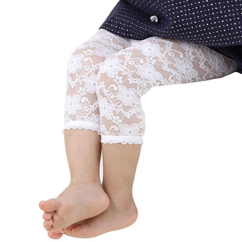 2019 dziecko koronki cukierki kolor Capris Baby Girl dzieci bawełna dzianiny rajstopy rajstopy pończochy spodnie oddychające spodnie spodnie 0- 4T