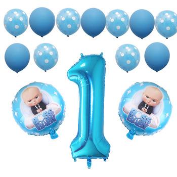 Baby boss balony baby shower jeden rok życia baby boss dekoracja urodzinowa balon dostawca pierwsze 1 urodziny zabawki dla dzieci tanie i dobre opinie partycode CN (pochodzenie) Cartoon Amnimal Cartoon Rysunek Folia aluminiowa Birthday Party Ballon 5 sztuk first birthday