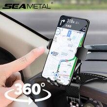 Soporte Universal para teléfono de coche, rotación de 360 grados, soporte para teléfono inteligente, soporte para salpicadero de coche con tarjetas de estacionamiento para coche
