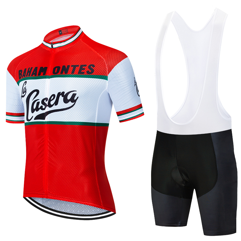 2020 NEW CASERA cycling TEAM jersey bike shorts WEAR Ropa Ciclismo mens summer quick dry PRO bicycle Maillot Pants clothing