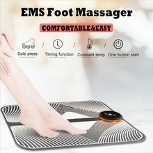 Good Healthy Foot Mat Massager Circulation Feet Reflexology Deep Kneading Shiatsu Therapy Tool