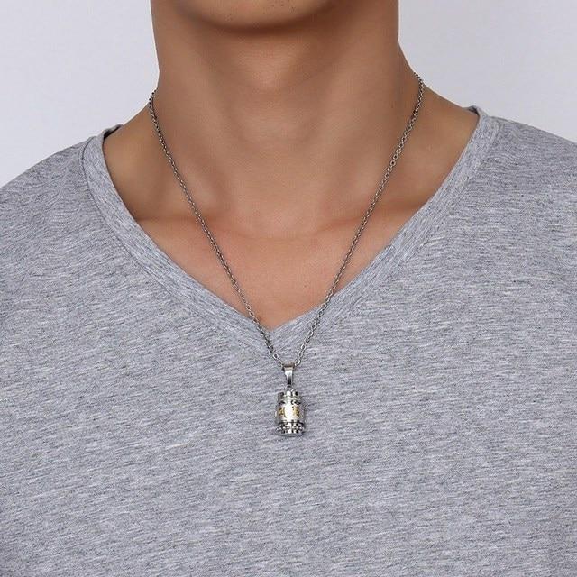 looker из нержавеющей стали буддизм шесть слов вращающийся ожерелье фотография