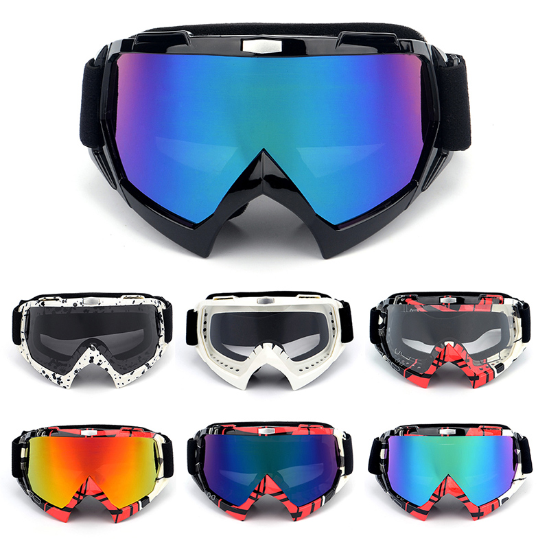 2019 Ski Sport Goggles Snowboard Mask Winter Snowmobile Motocross Sunglasses Windproof UV Protection Off-road Goggles