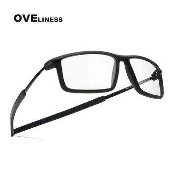 Fashion men's eyeglasses frames eye glasses frame for men Optical full eyewear TR90 Myopia Prescription Clear glasses Spectacles sorbern men s glasses clear lens eyewear tr90 eyeglasses frames men unisex nerd glasses women spring hinge frame glasses optic