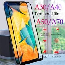 Vitre de protection d'écran original en verre trempé pour Samsung A30, protection de téléphone, A40 A50, Galaxy A70, A20, M30, A 30, 40, 70, 50,