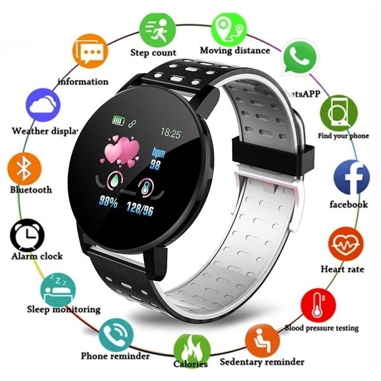 2020 Smart Bracelet Watch Man Wen Waterproof Blood Pressure Measurement Fitness Tracker Heart Rate Monitor Pedometer Innrech Market.com