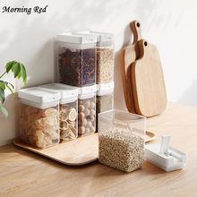 Кухонный Контейнер для хранения пищи герметичные банки пластиковая