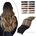 Unprocessed European Balayage Double Sided Human Tape in Hair Extension