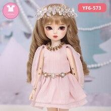 BJD בגדי Bjd ילדה 1/6 הצעה YOSD שמלת יפה בובת בגדי תיקון את גוף OUENEIFS בובת אבזרים