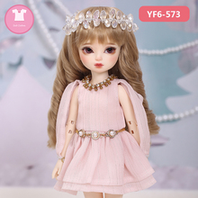 BJD Clothes Bjd girl 1/6 BID YOSD Dress Beautiful Doll Clothes Repair the body OUENEIFS Doll Accessories