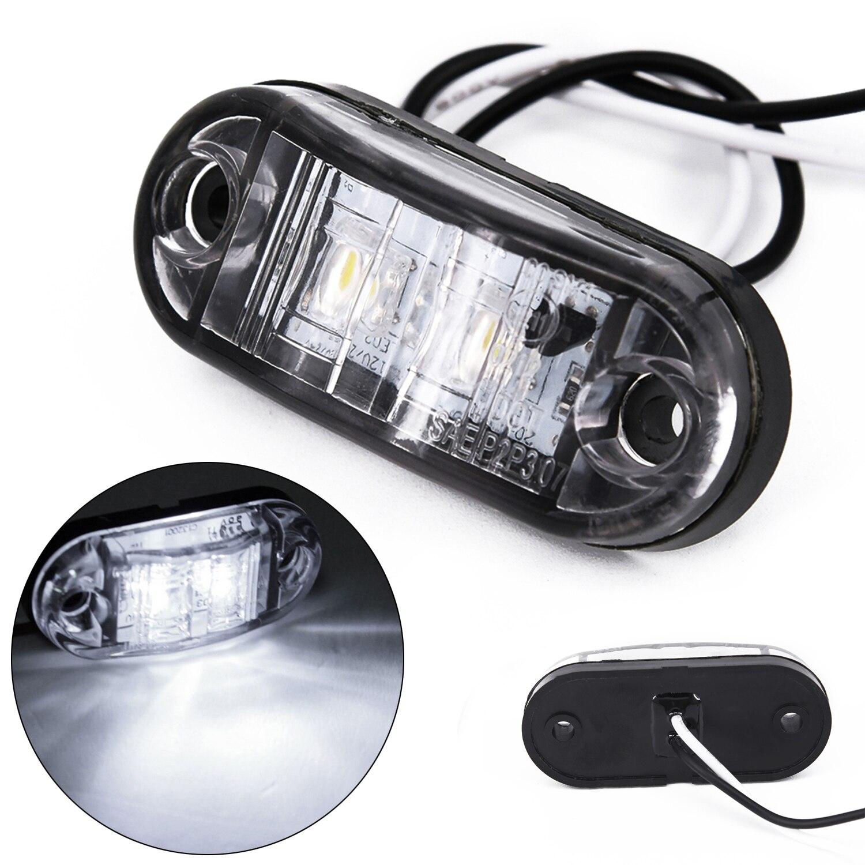 1W LED Side Marker Light Waterproof For Car Truck Trailer Boats DC 10-30V Spare