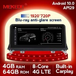 8 ядер 4G + 64G android 10,0 автомобильный мультимедийный плеер навигация GPS радио для BMW X5 E70 X6 E71 2007-2013 1920X720HD DSP carplay