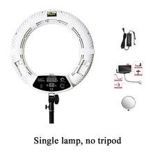 스튜디오 led 라이트 링 라이트 램프 Yidoblo FD 480II 링 라이트 LED 카메라 라이트 비디오 단일 램프 96W 5500K selfie 라이트