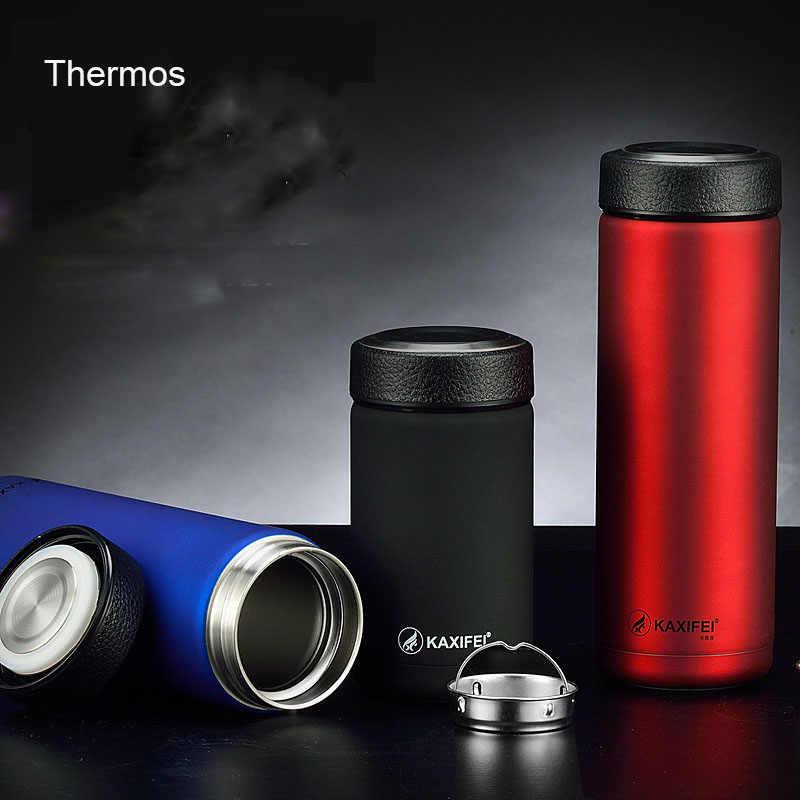 ZOOOBE 400/680 مللي الترمس الشاي القهوة القدح كأس معزول 304 الفولاذ المقاوم للصدأ الحرارية القدح المياه زجاجة ترموس تفريغ كوب (مج) للقهوة في السفر