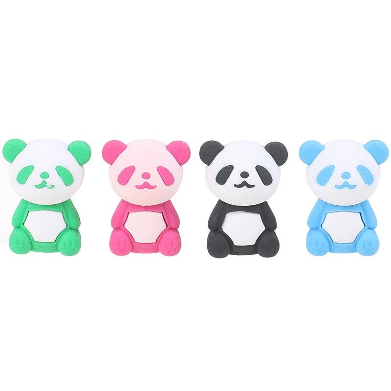 Забавный Прочный панда карандашный ластик школьные канцелярские принадлежности для студентов детский подарок милый игровой школьный канцелярский|Ластик|   | АлиЭкспресс