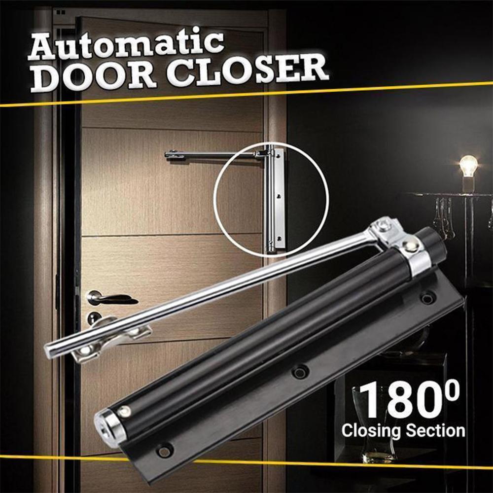 Porta automática mais próxima primavera liga de alumínio Ajustável único доводчик двери автоматический доводчик двери # EO28 dor mais perto