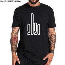 2020 забавная футболка Креативный дизайн с буквенным принтом