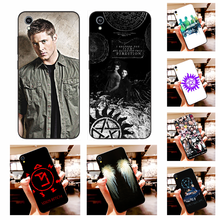 NBDRUICAI Supernatural Jared Padalecki Soft Silicone Black Phone Case For Vivo Y91c Y17 Y51 Y67 Y55 Y93 Y81S Y19 Y7S Case(China)