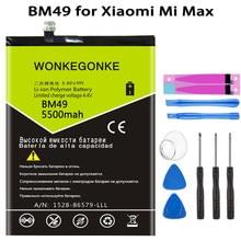 Wonkegonke bm49 bateria de substituição para xiao mi mi max batterie bateria