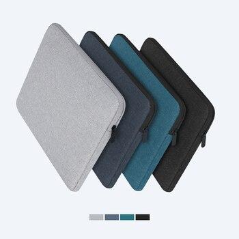 Laptop Hülse Fall 13,3 14 15,4 15,6 Zoll Notebook Reise Trage Tasche für Macbook Air Pro 14 zoll Stoßfest Fall für Männer Frauen 1