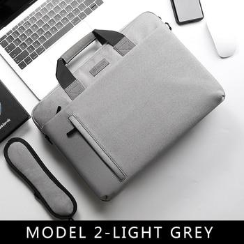 Laptop Bag case 13.3 14 15.6 17.3 Inch Waterproof Notebook Bag for Macbook Air Pro 13 15 Computer Shoulder Handbag Briefcase Bag 10
