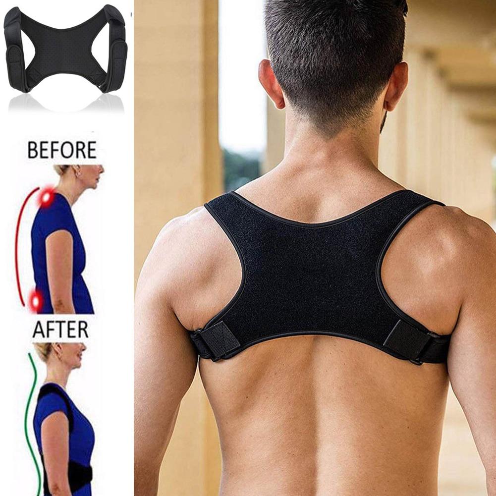 Adjustable Posture Corrector Shoulder Support Belt for Adult Teenager Round Shoulder Breathable Dailywear Back Braces Corset(China)