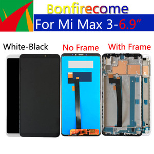 """Image 3 - 6.9"""" Original Display For Xiaomi Max 3 LCD Touch Screen Digitizer With Frame Replacement For Xiaomi Max3 Display Assembly"""