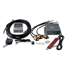 Universal Auto Air ride suspension Electronic control system with height sensor bluetooth remote and wire
