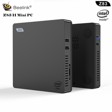 Upgrade Z83 MINI PC Intel Atom Z8350 up to 1.92GHz 2GB RAM 32GB ROM windows 10 4K HDMI VGA WiFi 1000M LAN win10 Smart TV Box T7