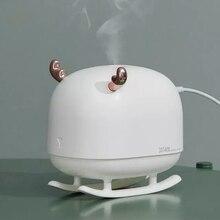 Youpin sothing umidificador 260ml luz da noite usb casa cervos umidificador de ar purificador ar atmosfera nano névoa fabricante