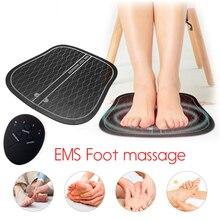 الكهربائية EMS مدلك قدم ABS العلاج الطبيعي تنشيط باديكير عشرات القدم هزاز قدم لاسلكية محفز العضلات للجنسين