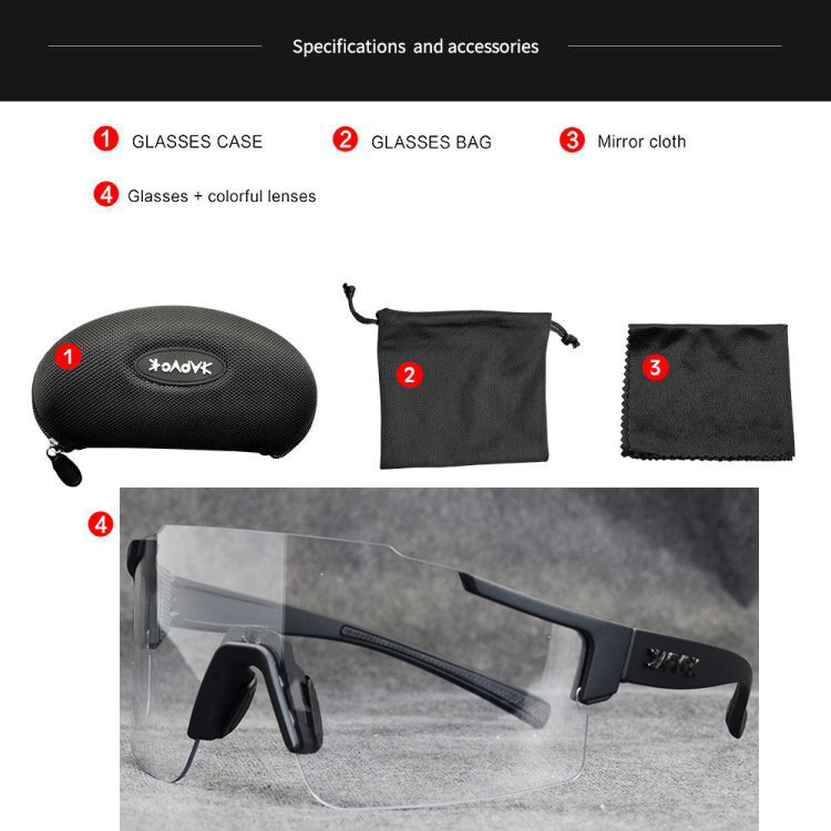 Men WRAP AROUND SPORT CYCLING FISHING SUN GLASSES Carbon Fiber Frame Mirror Lens