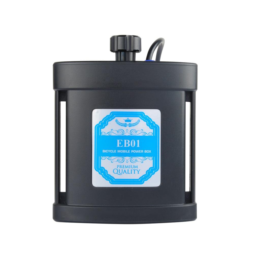 TrustFire EB01/EB02/EB03 Bike Waterproof 8.4V 18650 26550 Battery USB Power Bank Case Box  For Led Bike Light  For Mobile Phone