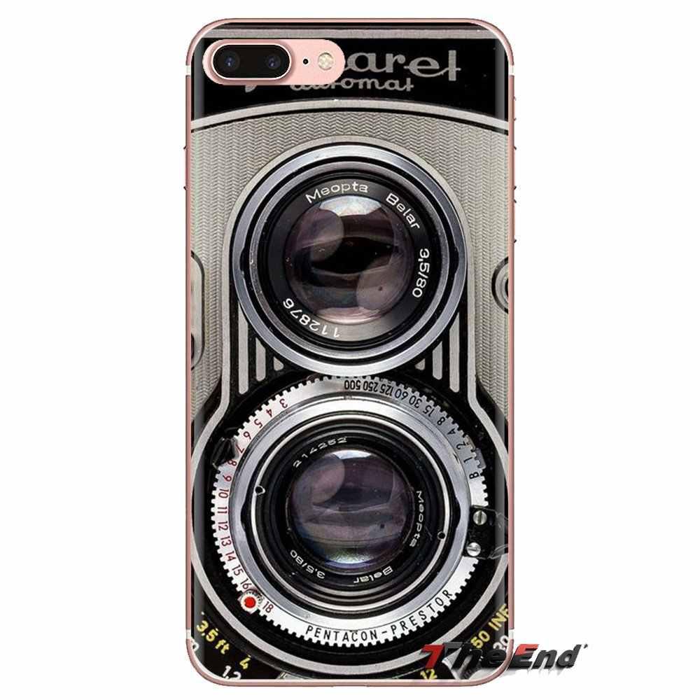 Kamera Kassette Band Tastatur Telefon Abdeckungen Für Samsung Galaxy S2 S3 S4 S5 MINI S6 S7 rand S8 S9 Plus hinweis 2 3 4 5 8 Coque Fundas