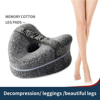 Powolne powracanie do kształtu poduszka odkształcająca się poduszka na nogę kobiety w ciąży poduszka na nogę poduszka w kształcie serca na nogę tanie i dobre opinie CN (pochodzenie) Bez wzorków Leg pillow Heart-shaped leg pillow Cotton Cushion pillow (with core) Memory Foam 23cm*13cm*25cm