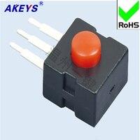 10 pièces YT-1212-213 DB pied droit forte lumière lampe de poche interrupteur Wenzhou une clé interrupteur auto-bloquant