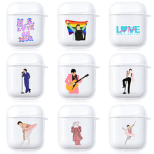 Harry Styles Case For Apple AirPods 1 2 Protective Transparent Earphone Case Cover Soft Silicone Case or Apple Airpods Pro Cover