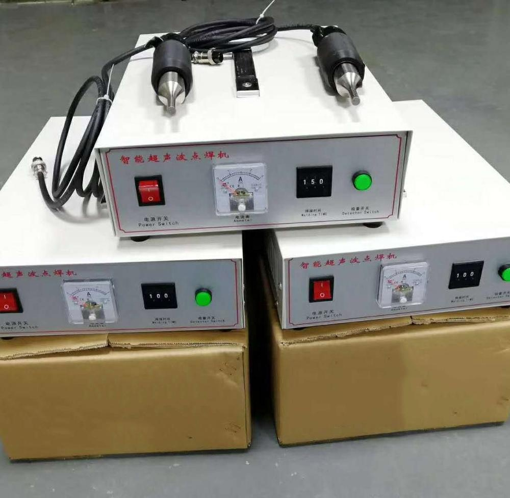 Ultrasonic Spot Welding Machine With High Sales Volume for Disposable Mask Ear Band 2