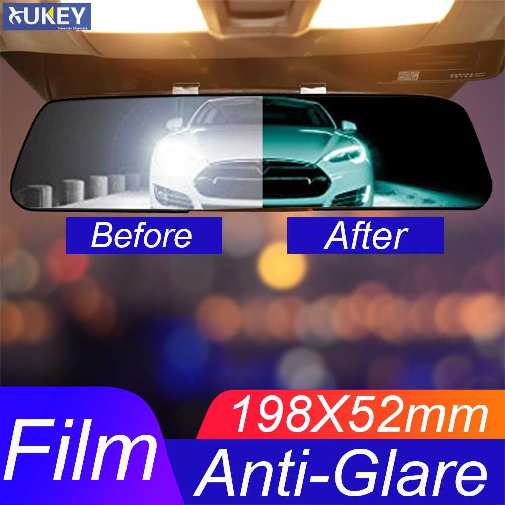 1 Set Universal Car Interior Rearview Mirror Anti-Glare Film Rear View Anti Scratch Nano Protective Sticker Auto Styling Parts