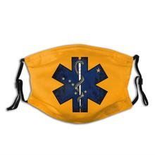Equipped Nose-Clip Paramedic Bandanas Face with Two-Replaceable Activated Dust-Scarf