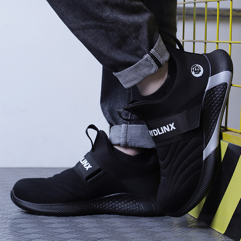 2020 New Steel Toe Soft Anti-Piercing Work Boots Breathable Men Light Sneaker Indestructible