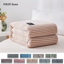 Plaid Blanket Soft Fluffy Blankets For Beds Kids Home Velvet blanket cover the bed 200x230cm Large Thick Fleece Sofa Blanket