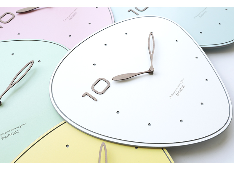 Minimalist Wall Clock for Living Room Decor