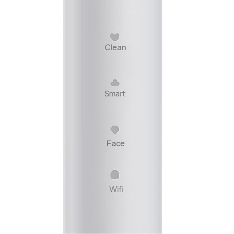 E401 Electric Toothbrush with 2x Brush Heads Rechargeable for Adults Braces Electric Orthodontic Toothbrush