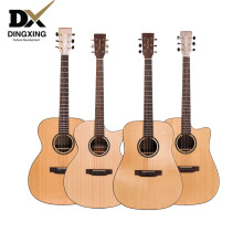 Spruce top Solid Wood Professional Acoustic guitar 40 41 inch musical Stringed instruments steel strings guitarra Hot retail OEM
