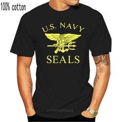 A equipe do selo da marinha dos eua imprimiu t camisas dos estados unidos navy seals camisas dos homens t camisas de treino do verão para homens tshirts